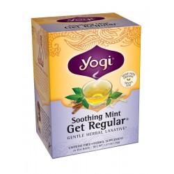 Yogi Soothing Mint Get Regular Tea, 16 Tea Bags