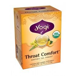 Yogi Throat Comfort Tea, 16 Tea Bags