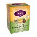 Yogi Kombucha Decaf Green Tea, 16 Tea Bags