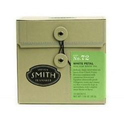 Smith Tea, White Petal, 15-Count