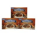 Swiss Miss, Hot Cocoa Mix, Indulgent Collection, Caramel Delight, 8 Count, 5.84 Oz Box (Pack of 3)