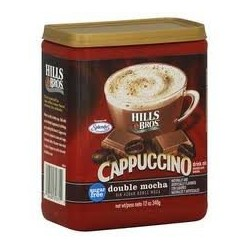 Hills Bros. Sugar-free Double Mocha Cappuccino, 12-oz. Canister