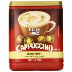 Hills Bros Cappuccino Hazelnut, 14 Ounce