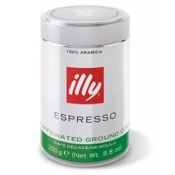 illy Espresso Ground Decaffeinated Coffee