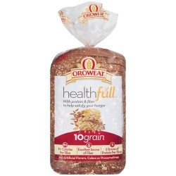 Oroweat Sliced Bread 24 Oz. Healthfull - 10 Grain (2 Loaves Pack)