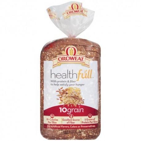 Oroweat Sliced Bread 24 Oz. Healthfull - 10 Grain (2 Loaves Pack)