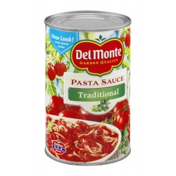 Del Monte Pasta Sauce Traditional 24 OZ