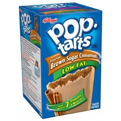 Pop-Tarts, Frosted Low Fat Brown Sugar Cinnamon, 8-Count Tarts