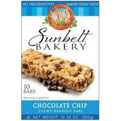 Sunbelt Bakery,  Chocolate Chip Chewy Granola Bars 10 Bars
