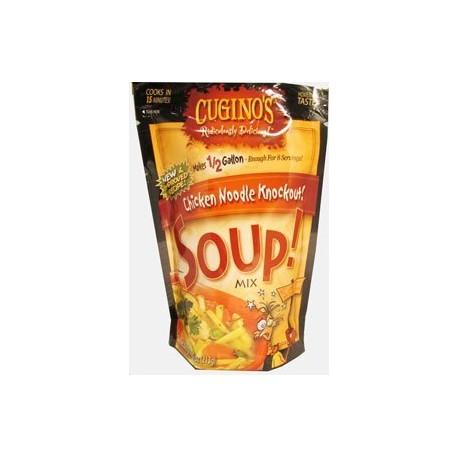 Cuginos Chicken Noodle Knockout Soup 7.5 Oz