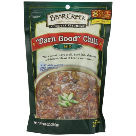 Bear Creek Country Kitchens Darn Good Chili Mix, 9.8 Ounce