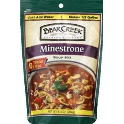 Bear Creek Soup Mix Minestrone 9.3 OZ