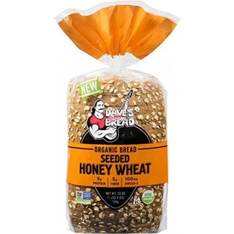 Dave's Killer Bread Organic Seeded Honey Wheat Bread (Pack of 2)