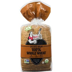 Dave's Killer Bread Organic 100% Whole Wheat Bread (Pack of 2)