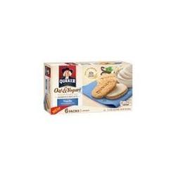 Quaker, Oat & Yogurt Sandwich Cookies, Vanilla, 8 oz Box