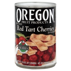 Oregon Fruit Pie Cherries Red Tart, 14.5-Ounce