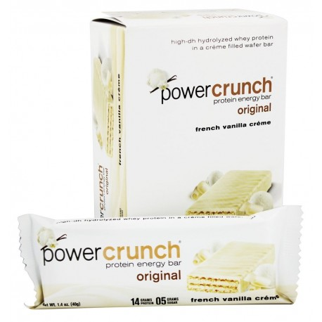 BioNutritional Research Group - Power Crunch Protein Energy Bar French Vanilla Creme - 5 Bars