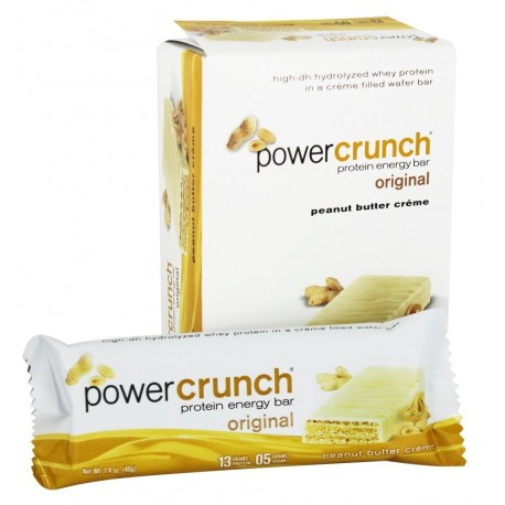 BioNutritional Research Group - Power Crunch Protein Energy Bar Peanut Butter Creme - 5 Ba