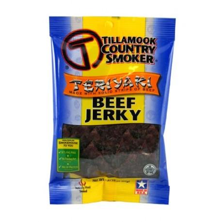 Tillamook Teriyaki Jerky, 3.25-Ounce