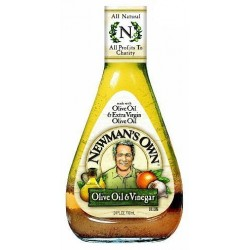 Newman's Own Salad Dressing Olive Oil and Vinegar, 24-Ounce
