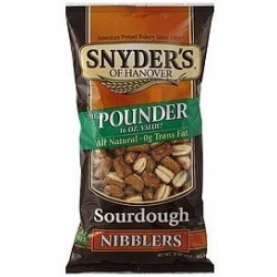 Snyder's of Hanover, Sourdough Nibblers, Pounder, 16oz Bag