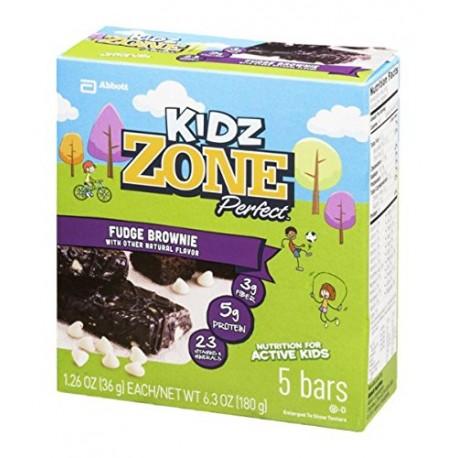 Kidz Zone Perfect Bars Fudge Brownie - 5 CT