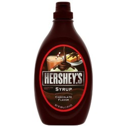 Hershey's Syrup, Chocolate, 24-Ounce Bottles