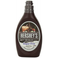 Hershey's Syrup, Sugar-Free Chocolate, 17.5-Ounce Bottles