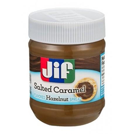 Jifs Hazel Nut Salted Caramel Spread 13 Oz