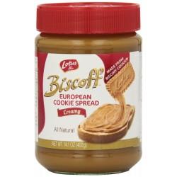 Biscoff Spread, Creamy  14.1 oz