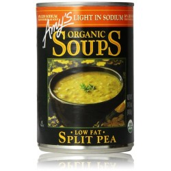Amy's Organic Soups, Low Fat Split Pea, 14.1 Ounce
