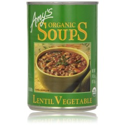 Amy's Organic Soups, Lentil Vegetable, 14.5 Ounce