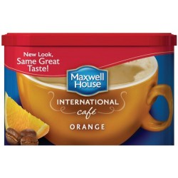 Maxwell House International Coffee Orange Cafe, 9.3 OZ