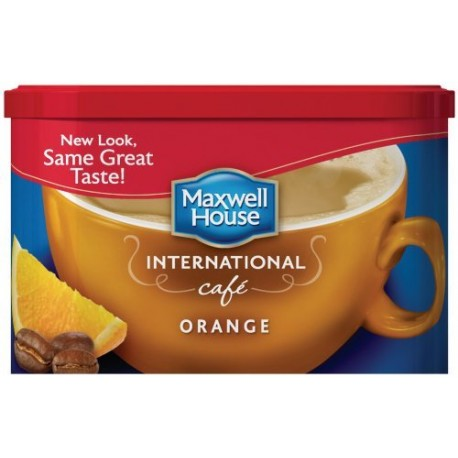 Maxwell House International Coffee Orange Cafe, 9.3 OZ