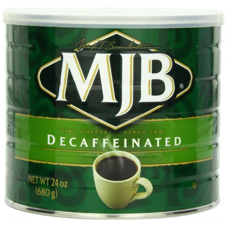 MJB Coffee Decaf Ground, 24 Ounce