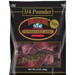 World Kitchens Peppered Beef Jerky, 10 Ounce Bag