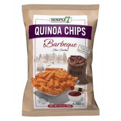 Simply 7 Quinoa Chips - Barbecue, 3.5 Oz. Bags
