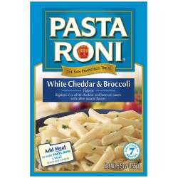 Pasta Roni White Cheddar & Broccoli Rigatoni Mix, 5.5-Ounce Boxes