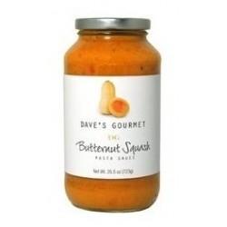 Dave's Gourmet Butternut Squash Pasta Sauce - 25.5 Ounces Bottle
