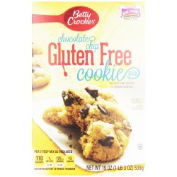 Betty Crockers Gluten Free Chocolate Chip Cookie Mix 19 OZ