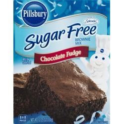 Pillsbury Sugar Free Mix - Chocolate Fudge Brownie - 12.35  OZ