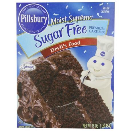 Pillsbury Moist Supreme Sugar Free Devil's Food Cake Mix 16 OZ