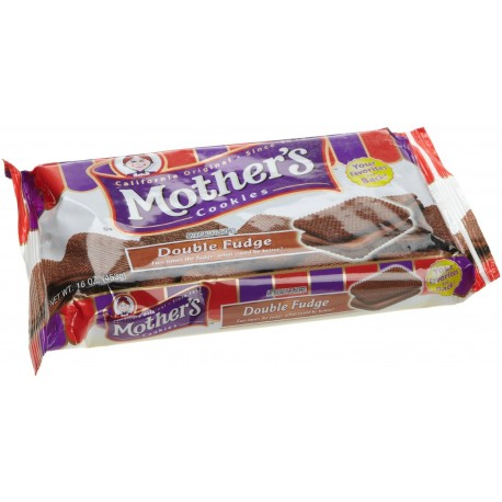 Mother's Double Fudge Sandwich Cookies, 16 OZ