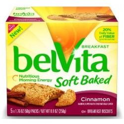 Nabisco, Belvita, Soft Baked, Cinnamon, 8.8 OZ