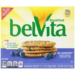 Belvita Breakfast Biscuit, Blueberry, 8.8 OZ