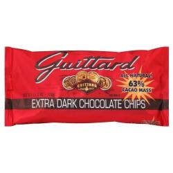 E Guittard 63% Extra Dark Chocolate Chip 11.5 OZ