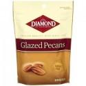 Diamond Brand, Glazed Pecans, 8 OZ Pouch