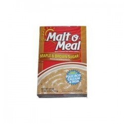 Malt-O-Meal, Instant Cereal, Maple And Brown Sugar, 28 OZ