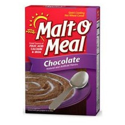 Malt O Meal, Chocolate, Quick Cooking Hot Wheat Cereal, 36 OZ Box