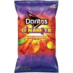 Frito Lay, Doritos, Dinamita, Firey Habenero, 9.25oz Bag